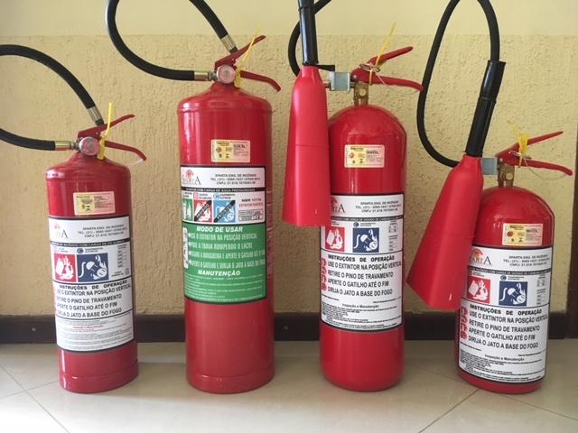 Venda de extintores de incêndio RJ